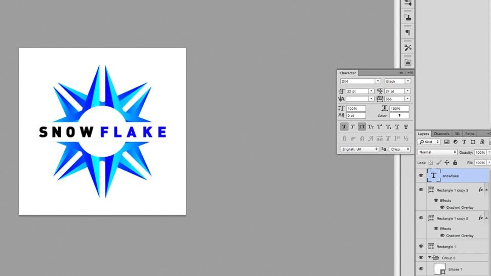 طراحی لوگو در فتوشاپ را به صورت حرفهای یاد بگیرید