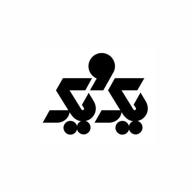 لوگو حروف الفبا فارسی