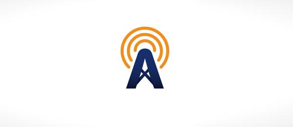 طراحی لوگوی حرف a